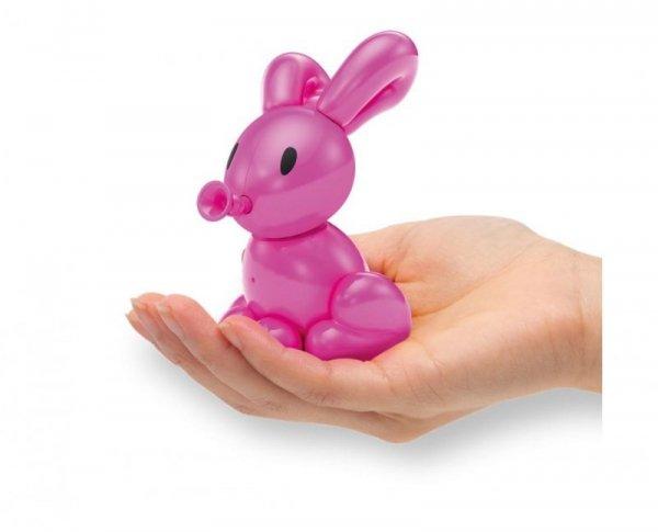 Interaktywny balonikowy Króliczek  Squeakee Minis