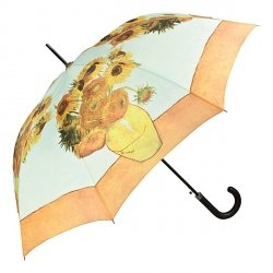 Vincent van Gogh Słoneczniki Parasol długi ze skórzaną rączką