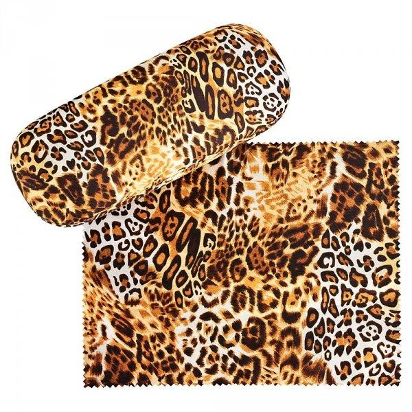 Leopard - etui na okulary Von Lilienfeld