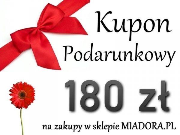 Bon Podarunkowy - 180 zł