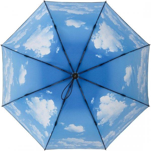 Chmury - parasolka na deszcz i słońce z fitrem UV UPF50+