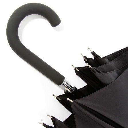 Klasyczny czarny parasol Airton 1600
