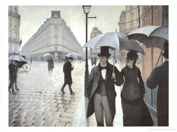 Paryż w deszczu G.Caillebotte - parasolka Von Lilienfeld