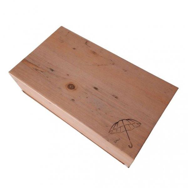 Kółka zestaw prezentowy - parasolka + pasek skórzany Zest 24912