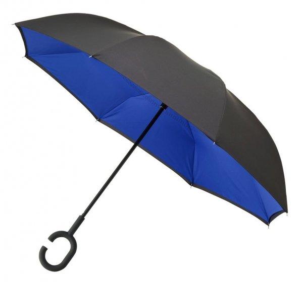 SuperBrella granatowy parasol odwrotny - super HIT!