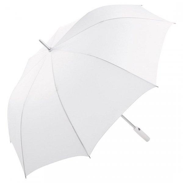 Duży biały sportowy parasol Ø 130 cm