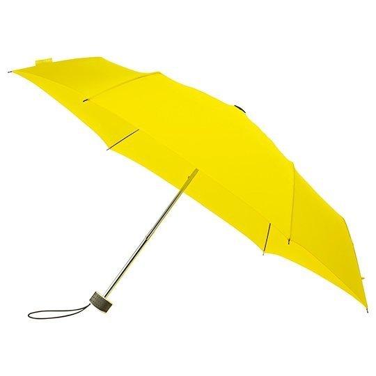 MiniMax® płaska parasolka składana - żółta