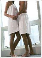Okrycie do sauny Pareo: męskie 180x75 cm.