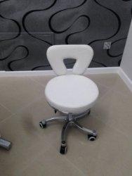 Pokrowce na krzesełko TRAPEZ frotte szare nr 29