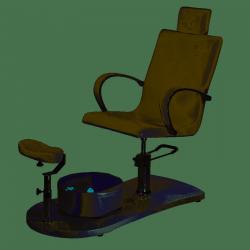 Pokrowce na fotelik kosmetyczny BR-2308 i podnóżek