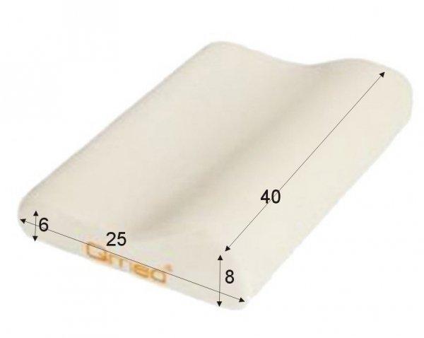 Pokrowce na poduszkę 40 x 25 x 8/ 6 cm