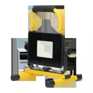 BATRI LED 20W, Naświetlacz roboczy, przenośny z akumulatorem, 1600lm, IP65, 6500K, 4400mAh