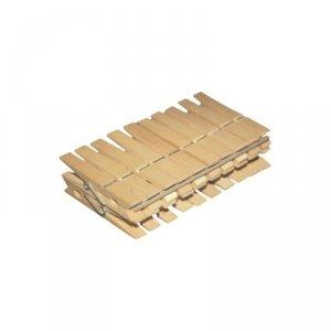 Zestaw 20szt klamerek drewnianych York