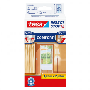 Moskitiera balkonowa comfort 1,2m:2,5m, biała
