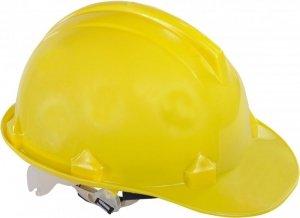 Hełm przemysłowy ochronny, żółty, kat. ii, ce, lahti