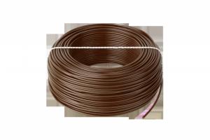 Przewód LgY 1x0,75 H05V-K brązowy