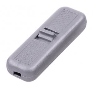 Złącze przełącznik przelotowy srebrny 2A/250V
