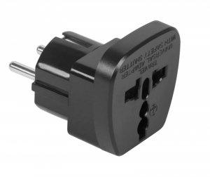 ZLA0566A Złącze AC wtyk PL - gniazdo uniwersalne (QZ36-9)