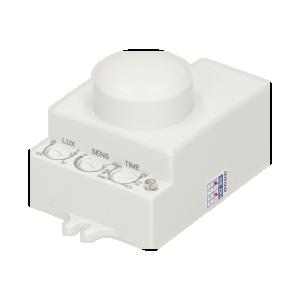 Mikrofalowy czujnik ruchu, mini, 360/180st. IP20, 1200W