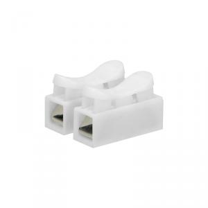 Złączka dwutorowa sprężynowa 2x2,5mm?, 10 sztuk
