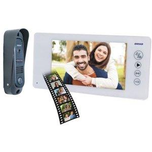 Zestaw wideodomofonowy pin hole,  ARCUS MEMO 7, biały