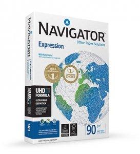 Papier Xero Igepa Navigator 82427A90 (A4; 90g/m2; 500 szt.; Mikroporowata)