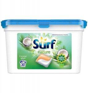 SURF Nature Kapsułki do prania Kokos 30szt