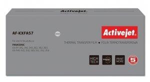Folia kopiująca Activejet AF-KXFA57 (zamiennik Panasonic KX-FA57; Supreme; czarny)