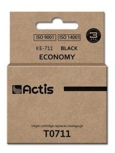 Tusz ACTIS KE-711 (zamiennik Epson T0711, T0891, T1001; Standard; 15 ml; czarny)
