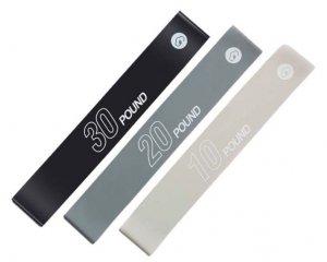 Zestaw 3 gum oporowych YUNMAI YMRB-L600 szare