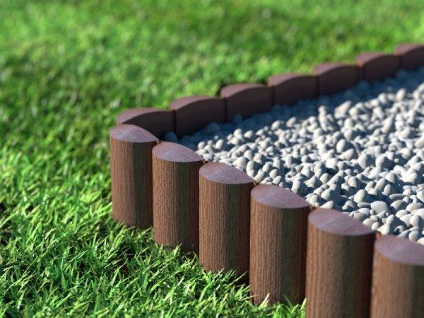 Palisada ogrodowa Cellfast Eco brązowa