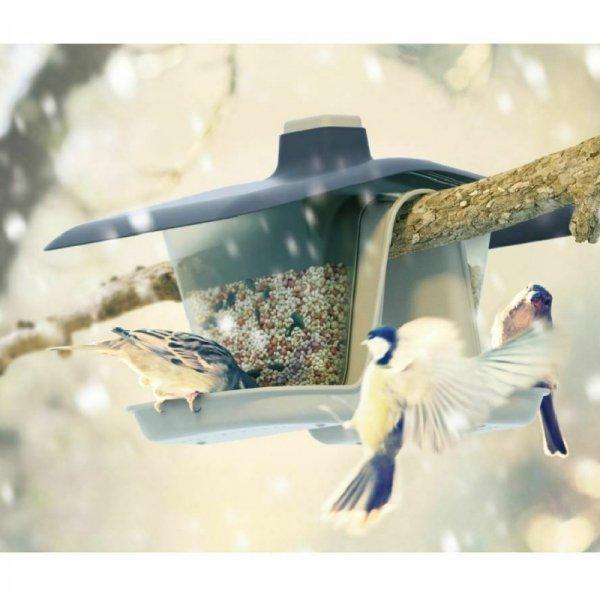 Karmnik dla ptaków Birdyfeed Double antracyt