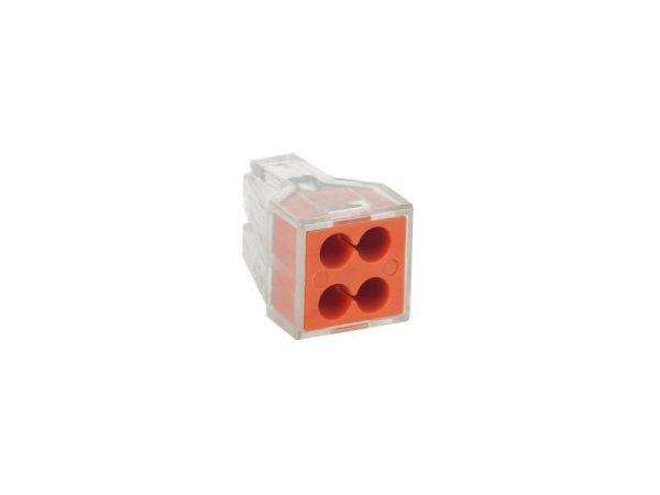 ZLA0955 Złączka uniwersalna 4 x 0.75-2.5 mm PCT18104