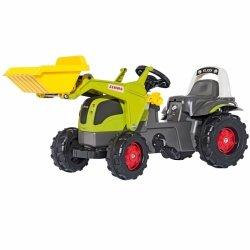 Rolly Toys rollyKid Traktor na pedały CLAAS + łyżka