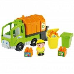 Ecoiffier Abrick Ciężarówka Śmieciarka Segregacja Śmieci