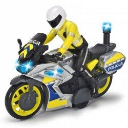 DICKIE SOS Motocykl Policyjny 17cm