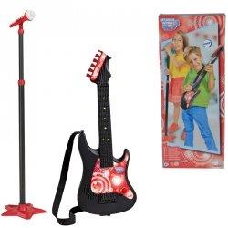 SIMBA Gitara z Mikrofonem My Music World 70 - 130 cm