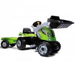 Smoby Traktor z przyczepą Farmer Max Łyżka