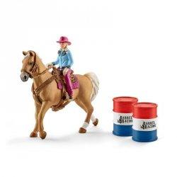 Kowbojka w wyścigu przez beczki