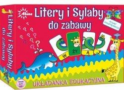 Litery i Sylaby- układanka