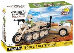 Klocki HC WWII SD.KFZ. 2 Ketten krad HK-101