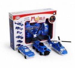 MalBlo Magnetyczne pojazdy policyjne