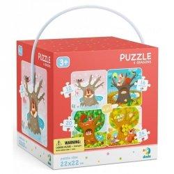 Dodo Puzzle 4w1 Pory roku