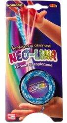 Gra Neo-Lina Świecąca w  ciemności niebieska
