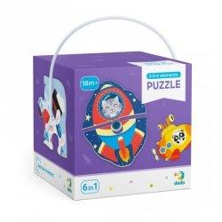 Dodo Puzzle 2-3-4 elementy Transport