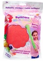 Masa plastyczna Chmurkolina pachnąca Big Pack czerwony brokat
