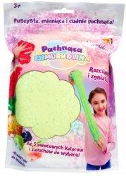 Masa plastyczna Chmurkolina pachnąca Big Pack zielony brokat