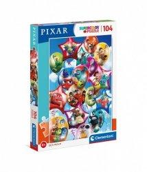 Puzzle 104 elementy Pixar Party