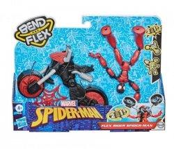 Figurka Spiderman Band and Flex Pojazd