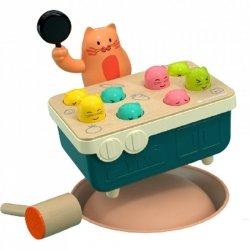 Gra szybkie uderzenie - Kotek i myszka Top Bright